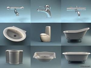 утановка сантехники в ванной