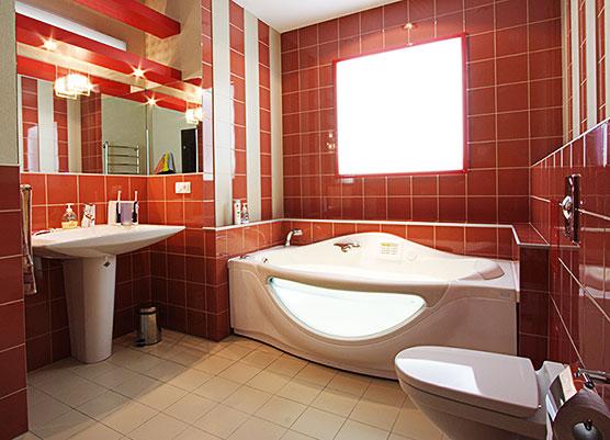 цветовая композиция ванной