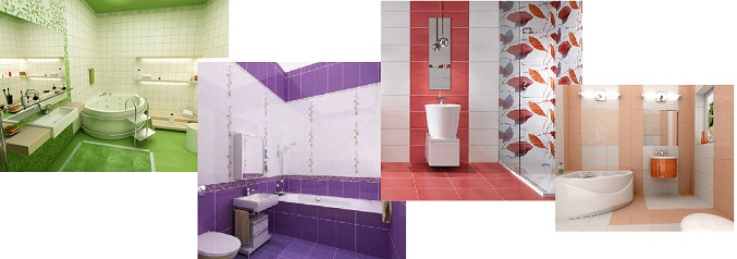 цветовые решения для ванной