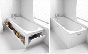 шторки под ванную