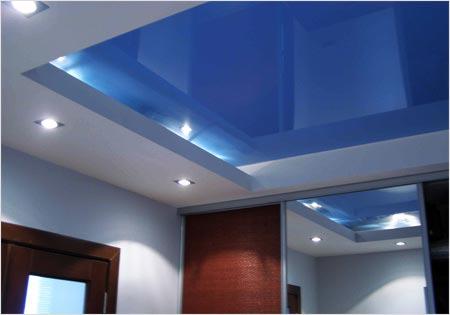эстетика - основное преимущество натяжного потолка